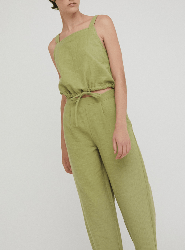 rita row Womens trousers Genesis - pants - olive