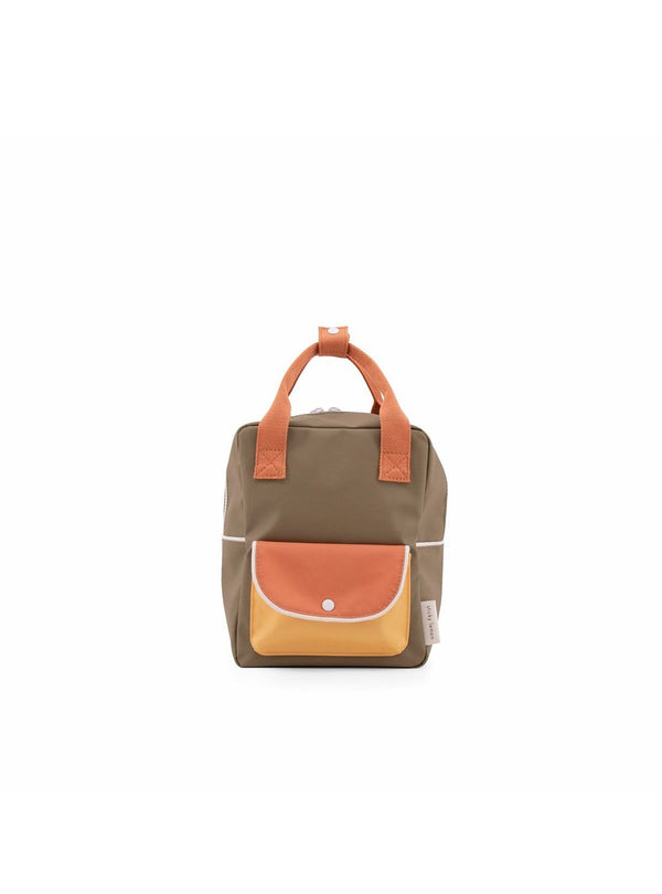 Small wanderer - backpack - seventies green