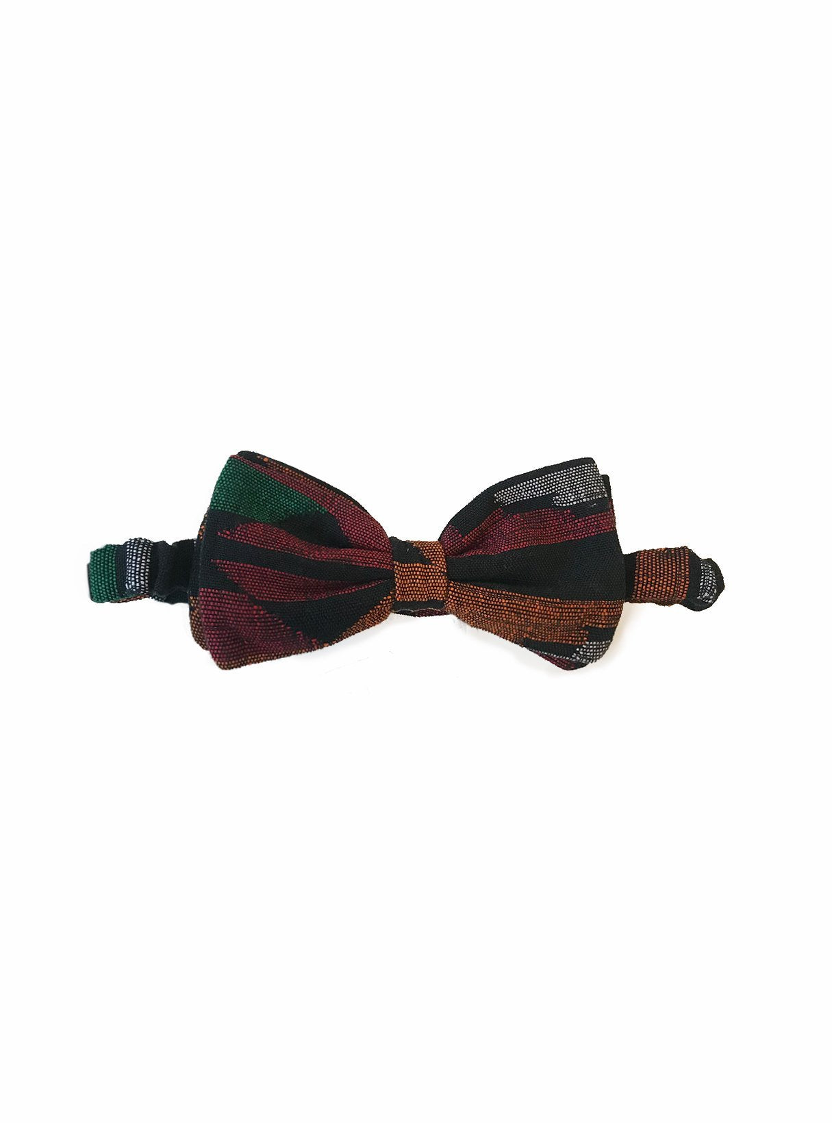 Cotton bow tie - dhaka print