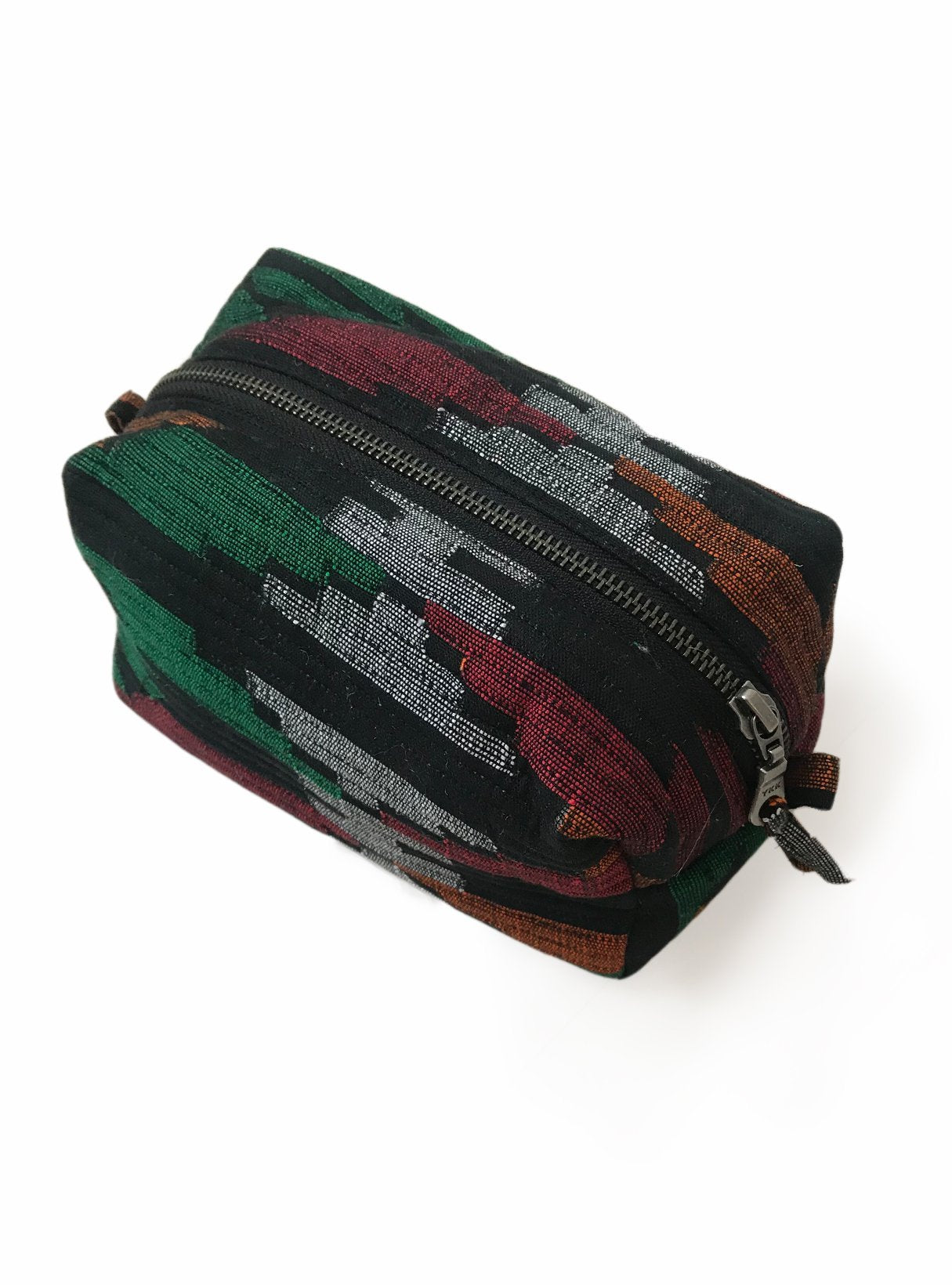 Quilted square etui large - dhaka mixed colours