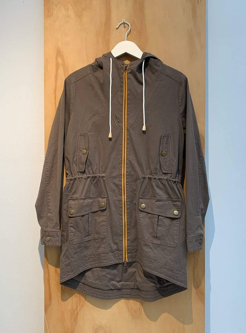 studio JUX Archive sale 34 Organic cotton - jacket - brown/yellow