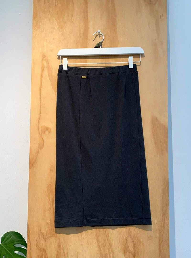 studio JUX Archive sale 36 Jersey cotton - skirt - black