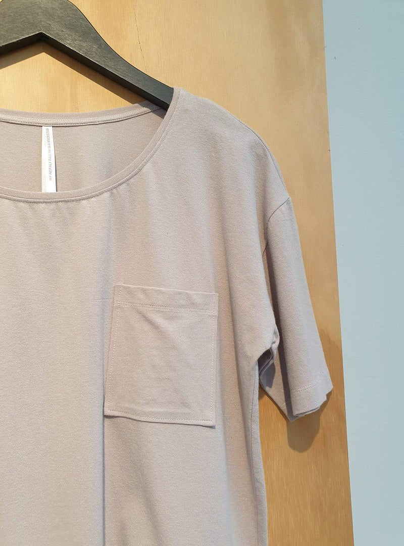 studio JUX Archive sale 36 Jersey cotton - t-shirt pocket - light purple