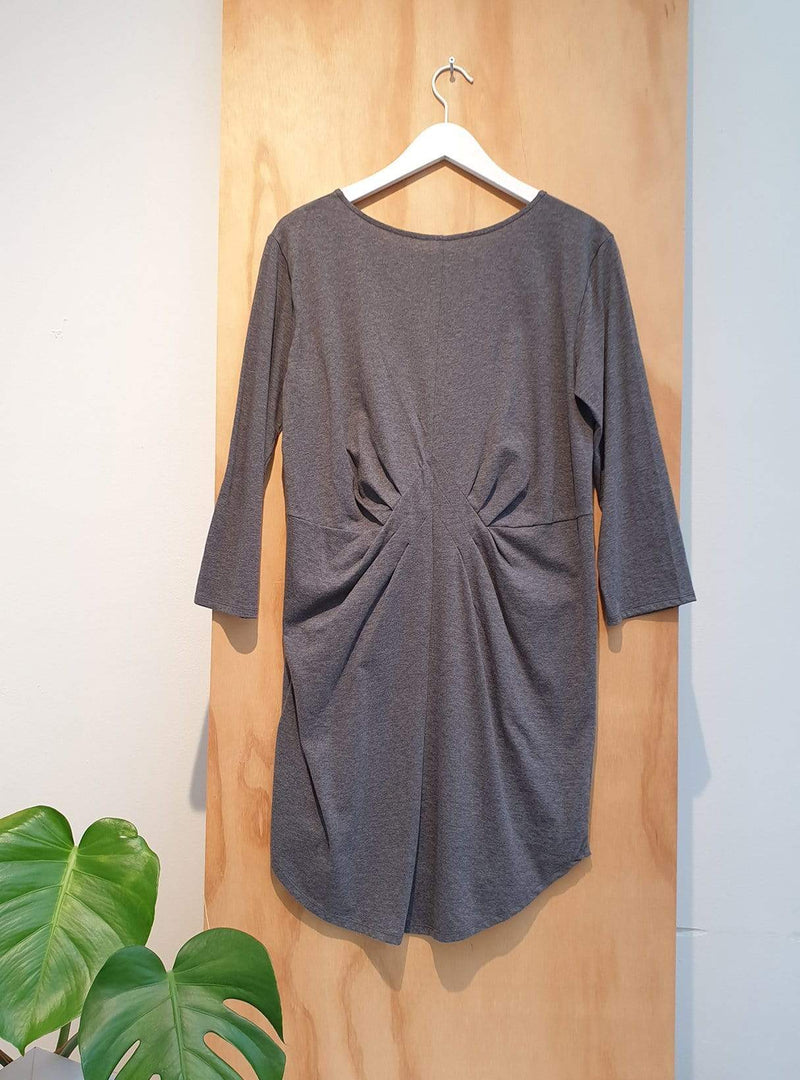 studio JUX Archive sale 36 Jersey dress - grey melange
