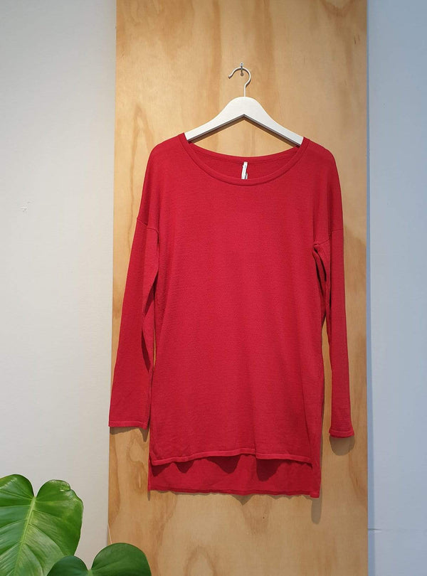 studio JUX Archive sale 36 Organic cotton - sweater - red