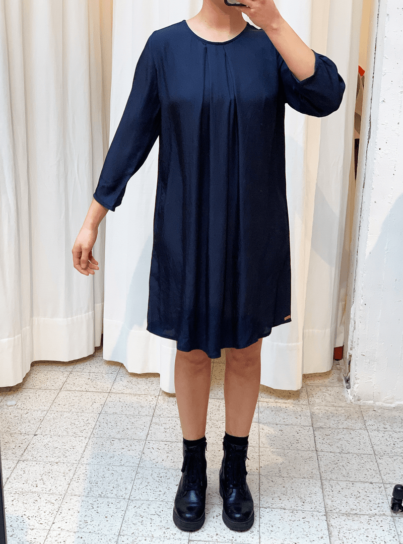 studio JUX Archive sale 36 Vegan silk - midi dress - blue