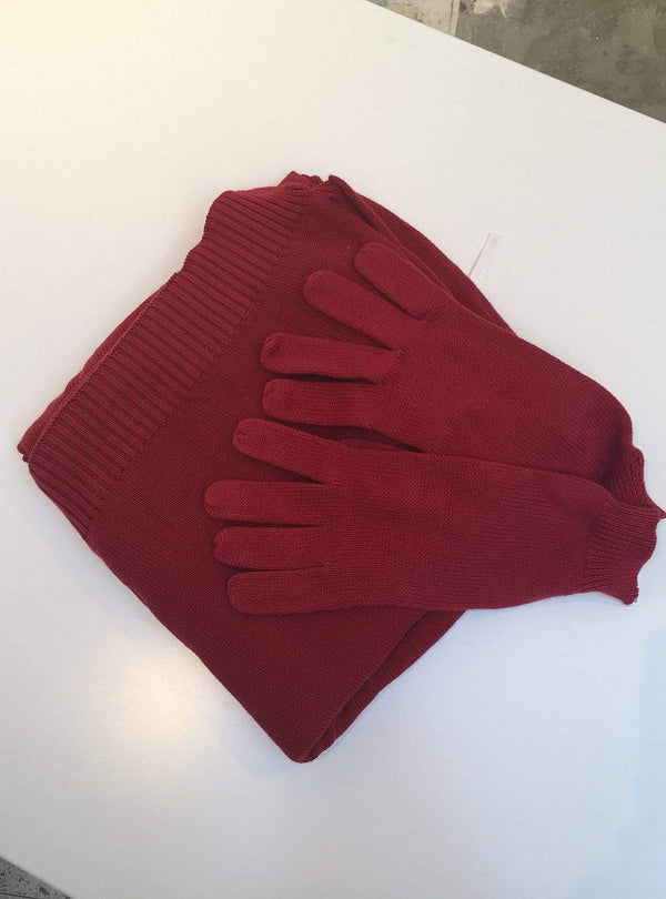 studio JUX Archive sale Gloves - red