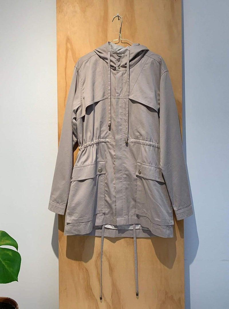 studio JUX Archive sale M Jacket with hoodie - beige