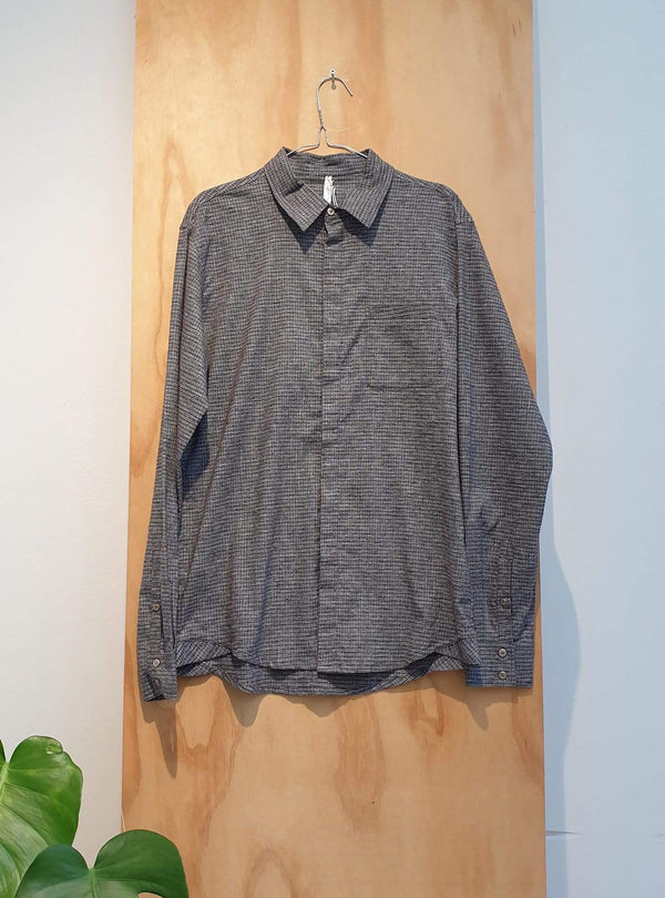studio JUX Archive sale S Shirt - grey small check