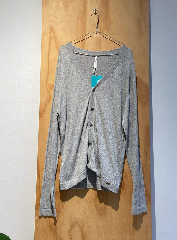 studio JUX Archive sale XL Organic cotton - cardigan - grey