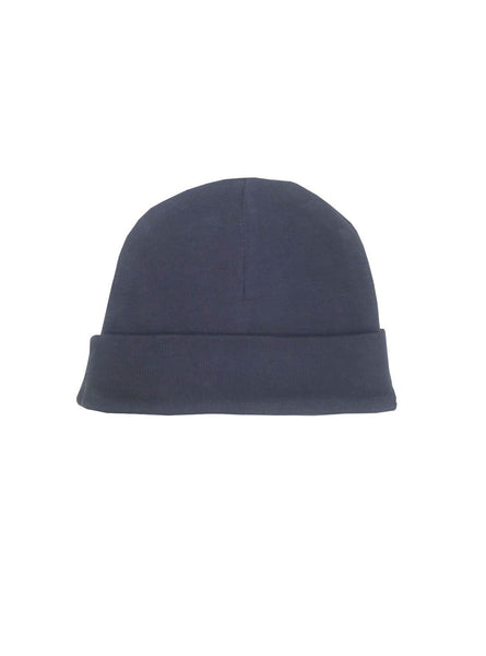 Baby hat - blue grey