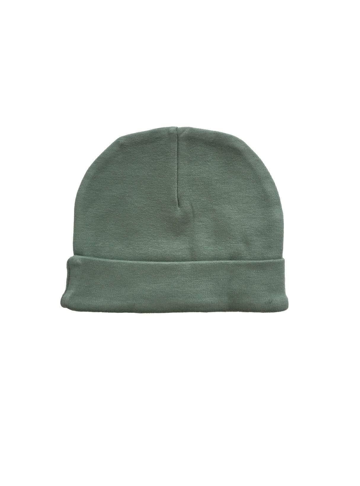 Baby hat - dark mint