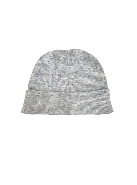 Baby hat - light grey melange
