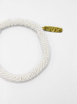 studio JUX Bracelets Beaded bracelet - white