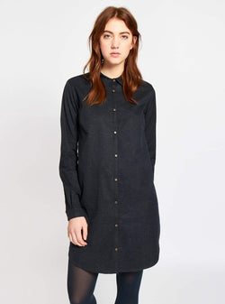 studio JUX dress Twill shirt dress - dark blue