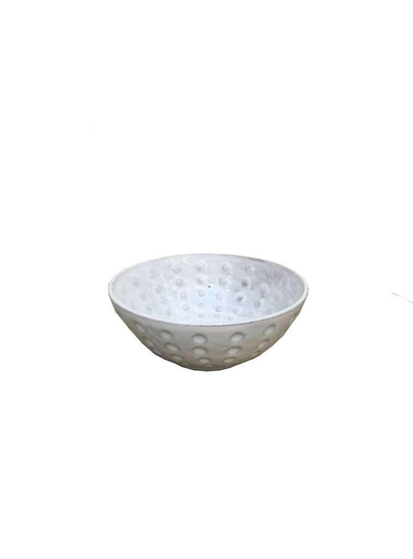 studio JUX home Bowl with dots - shiny ceramics 15 cm