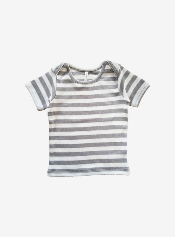 studio JUX Kids tops Baby t-shirt - grey stripe