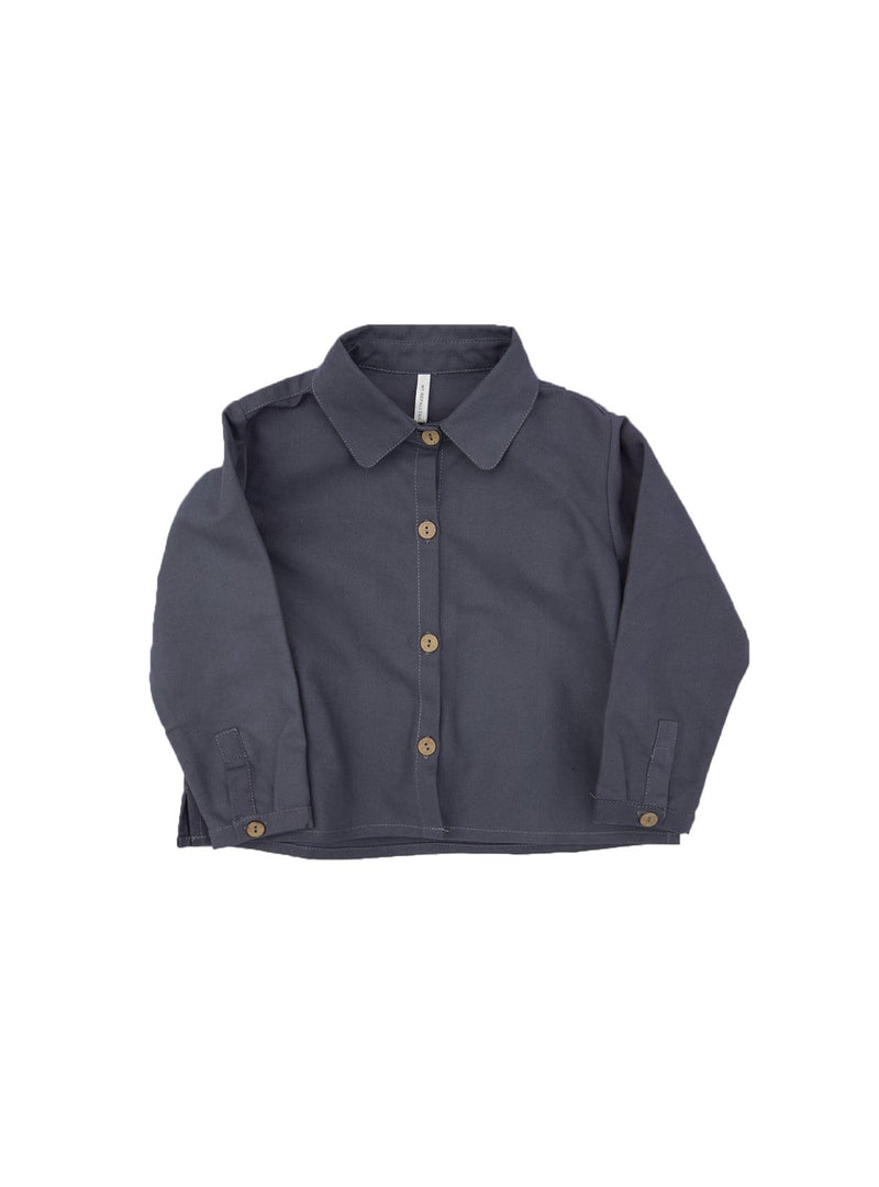 studio JUX Kids tops Shirt with collar - blue