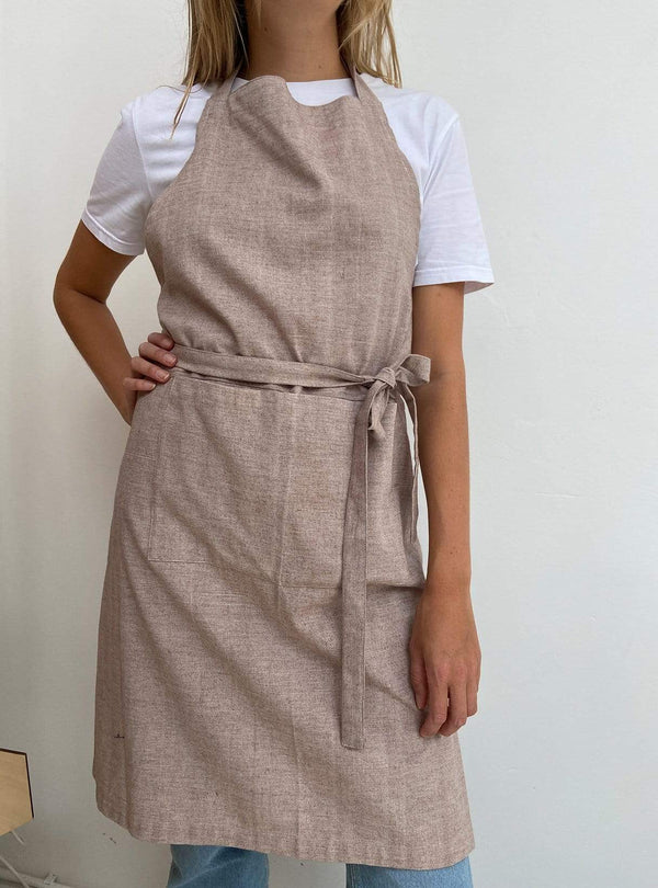 studio JUX Kitchen Apron - beige