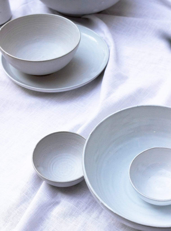studio JUX Kitchen Matt ceramic - bowl M 20 cm - white
