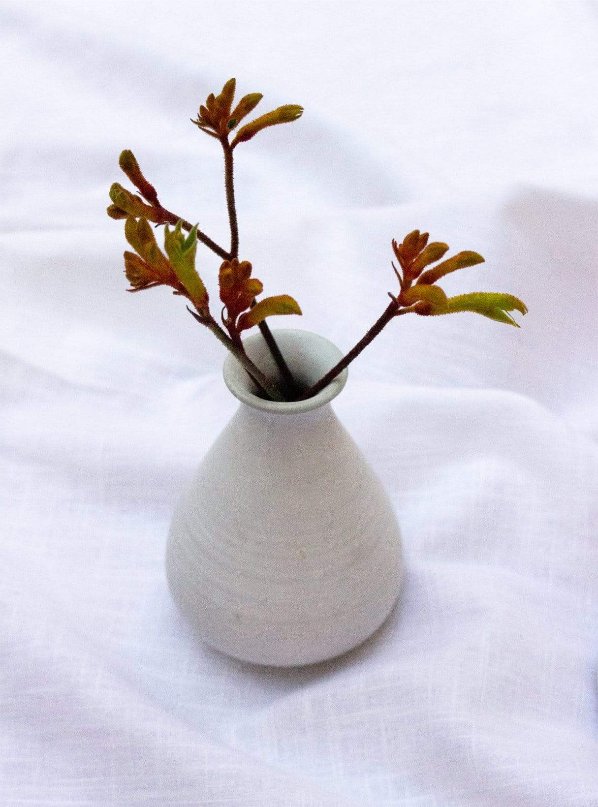 Matt ceramic - vase S - white