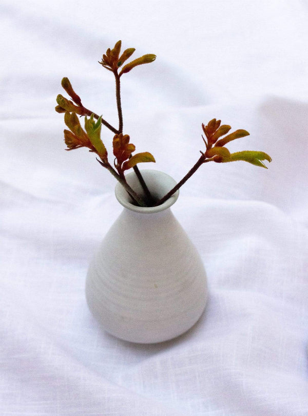 studio JUX Kitchen Matt ceramic - vase S - white