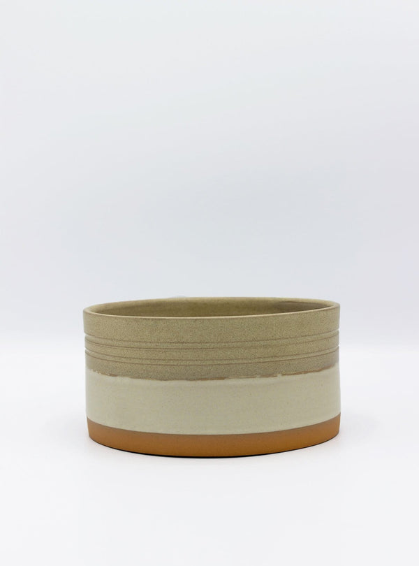 studio JUX Kitchen Two tone - cylinder bowl - beige sand stripe