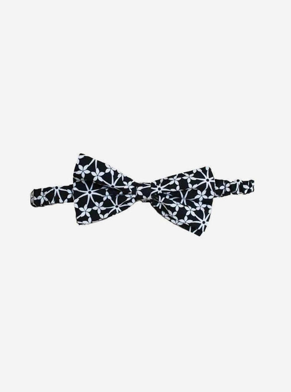 studio JUX Mens accessories Bow tie - black and white print