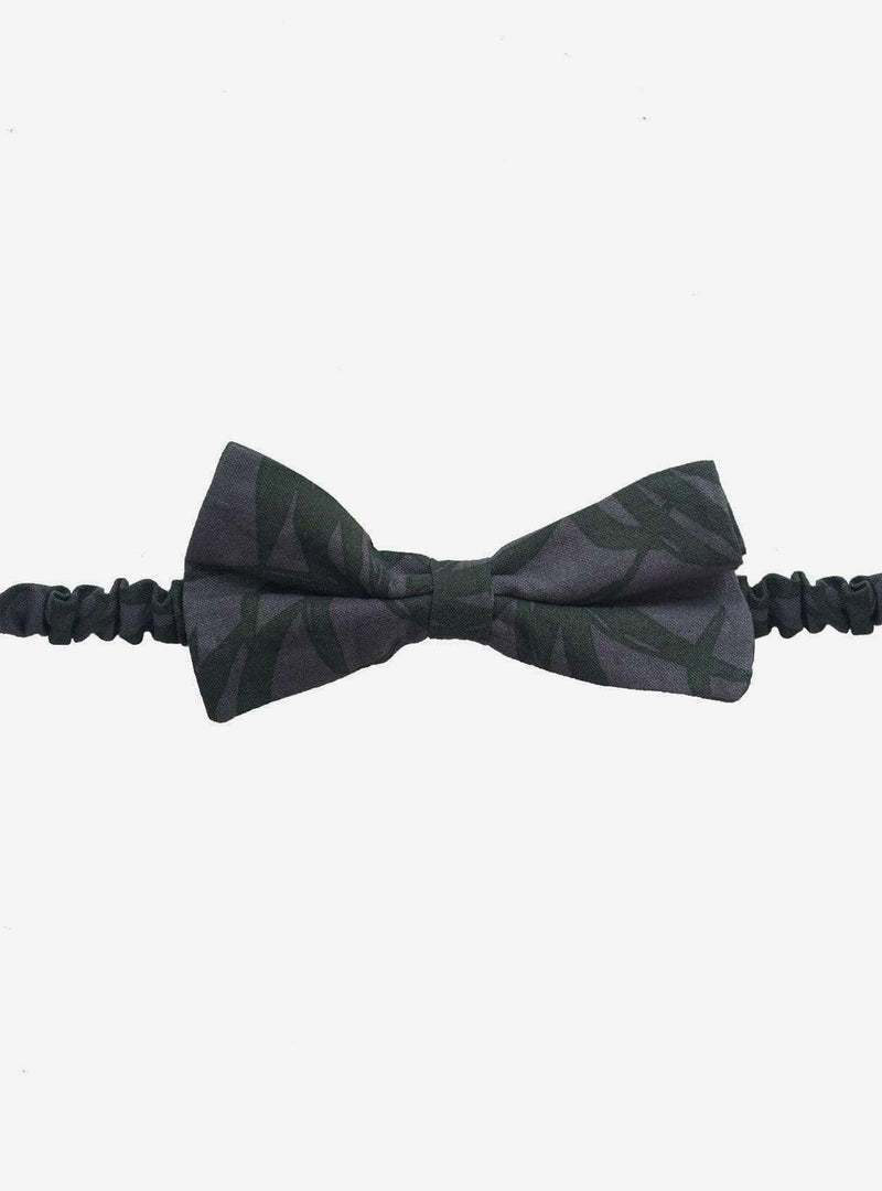 studio JUX Mens accessories Bow tie - dark green/grey
