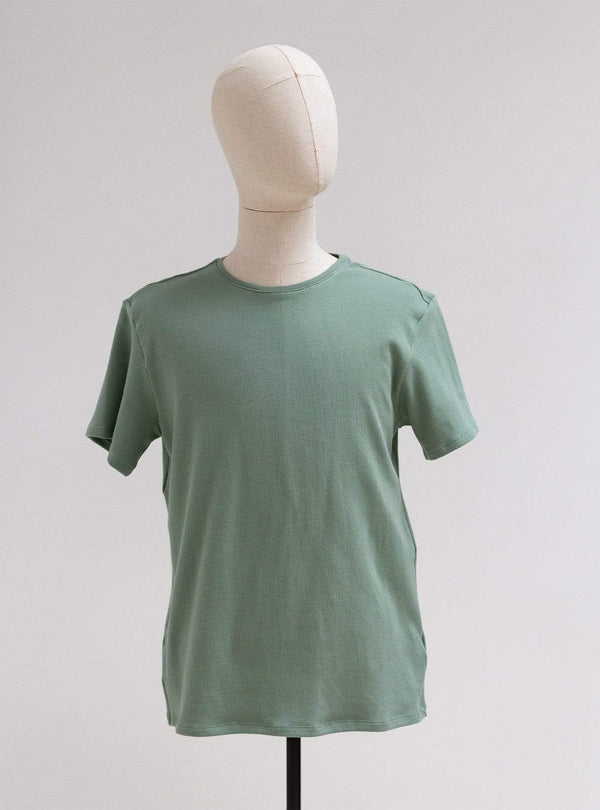 studio JUX Mens t-shirts Cotton jersey t-shirt - army green