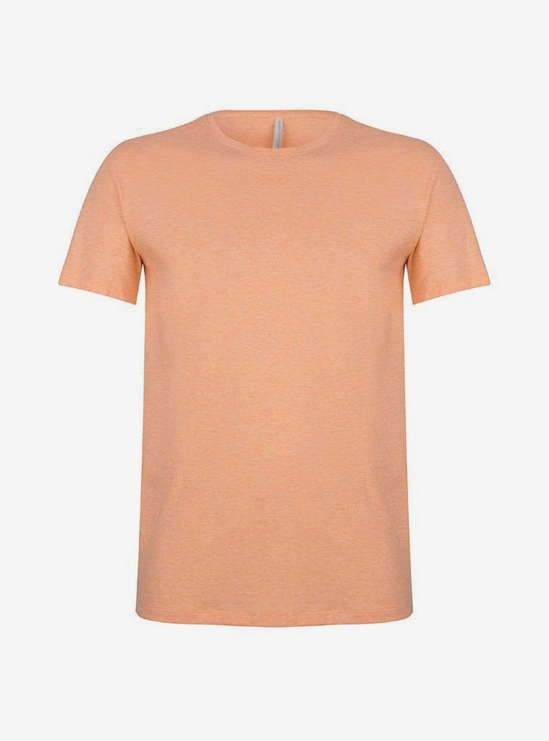 studio JUX Mens t-shirts Organic cotton - t-shirt - soft orange