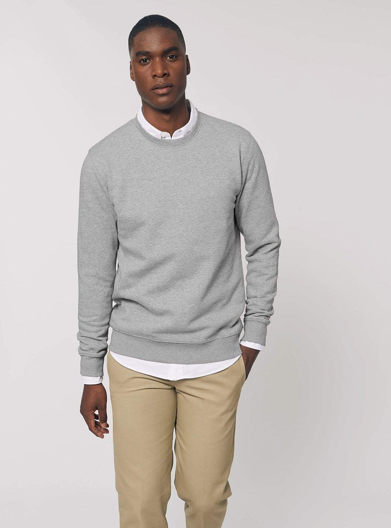 studio JUX sweater Unisex sweater - heather grey