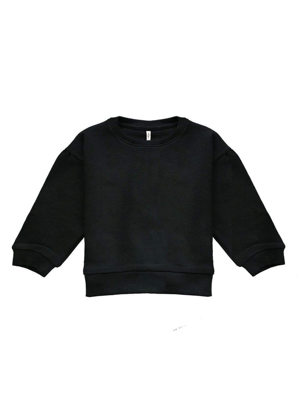 studio JUX sweaters Baby oversized sweater - black