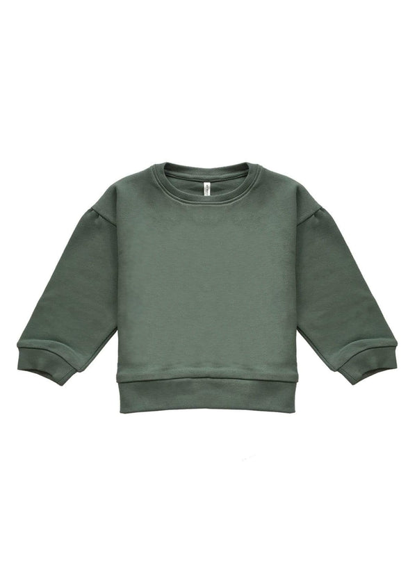 studio JUX sweaters Baby oversized sweater - dark mint