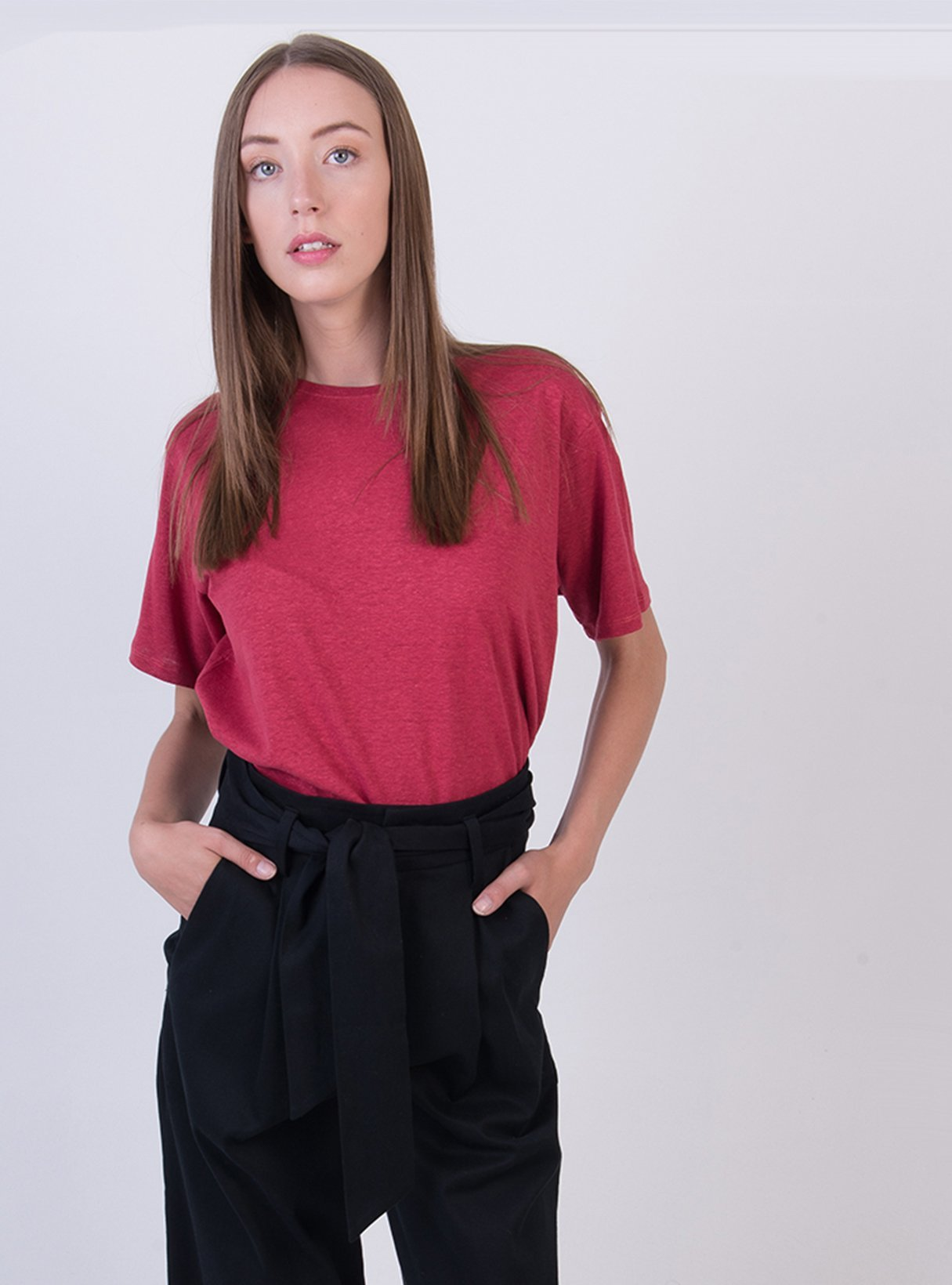 Oversized tshirt - bright red