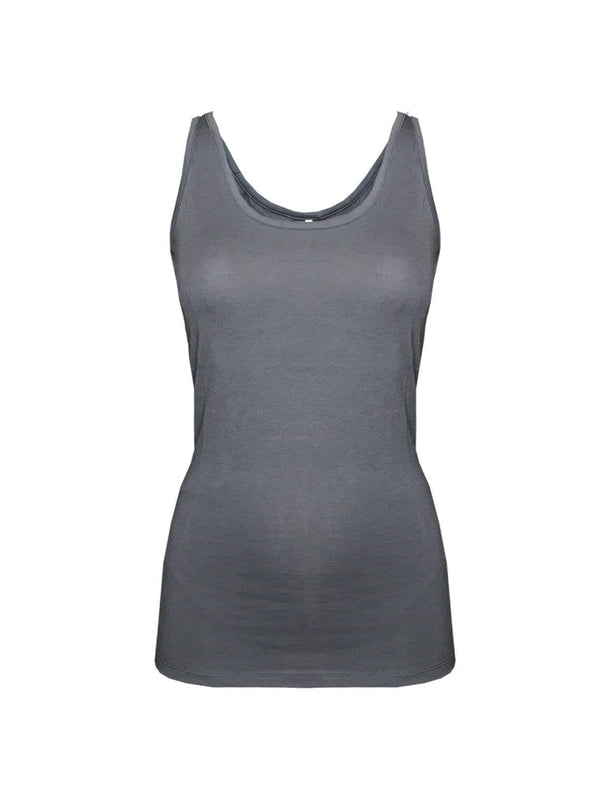 studio JUX tops Singlet - city grey