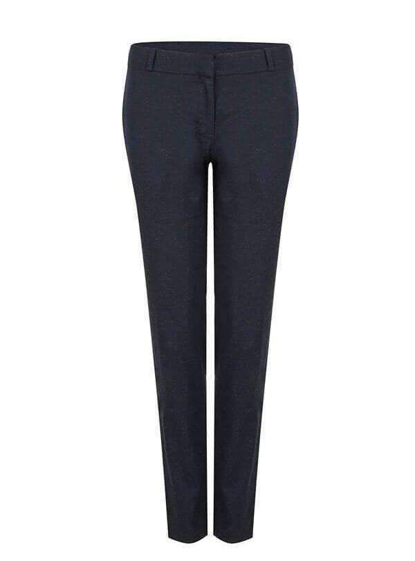 studio JUX trousers 34 Mixed twill formal trousers - dark blue