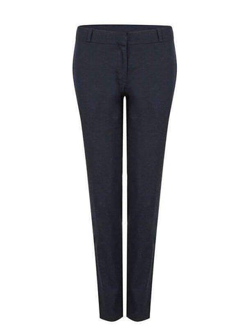 Mixed twill formal trousers - dark blue
