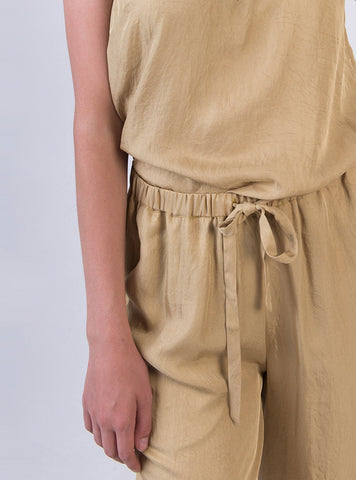 studio JUX trousers 34 Wide leg trousers - golden mist