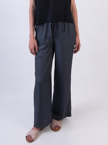Wide leg trousers - grey
