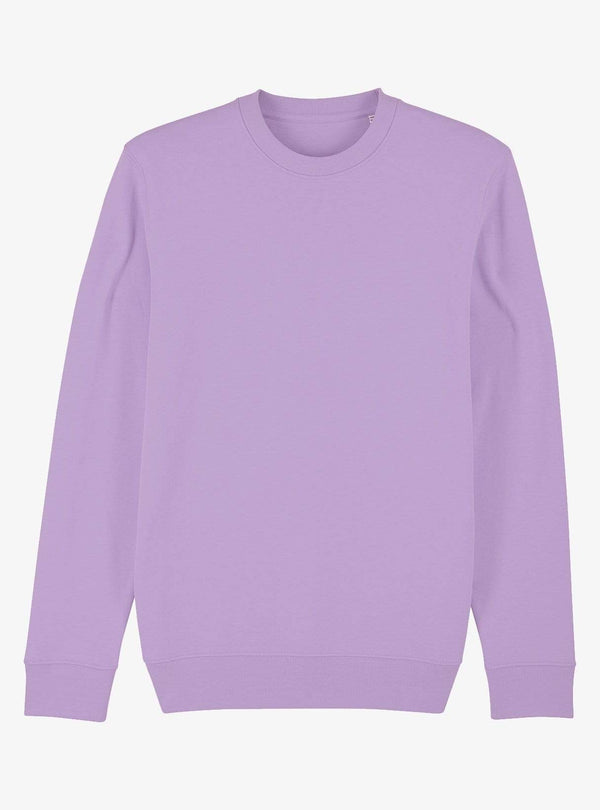 studio JUX Unisex Organic cotton - crewneck sweater - lavender dawn