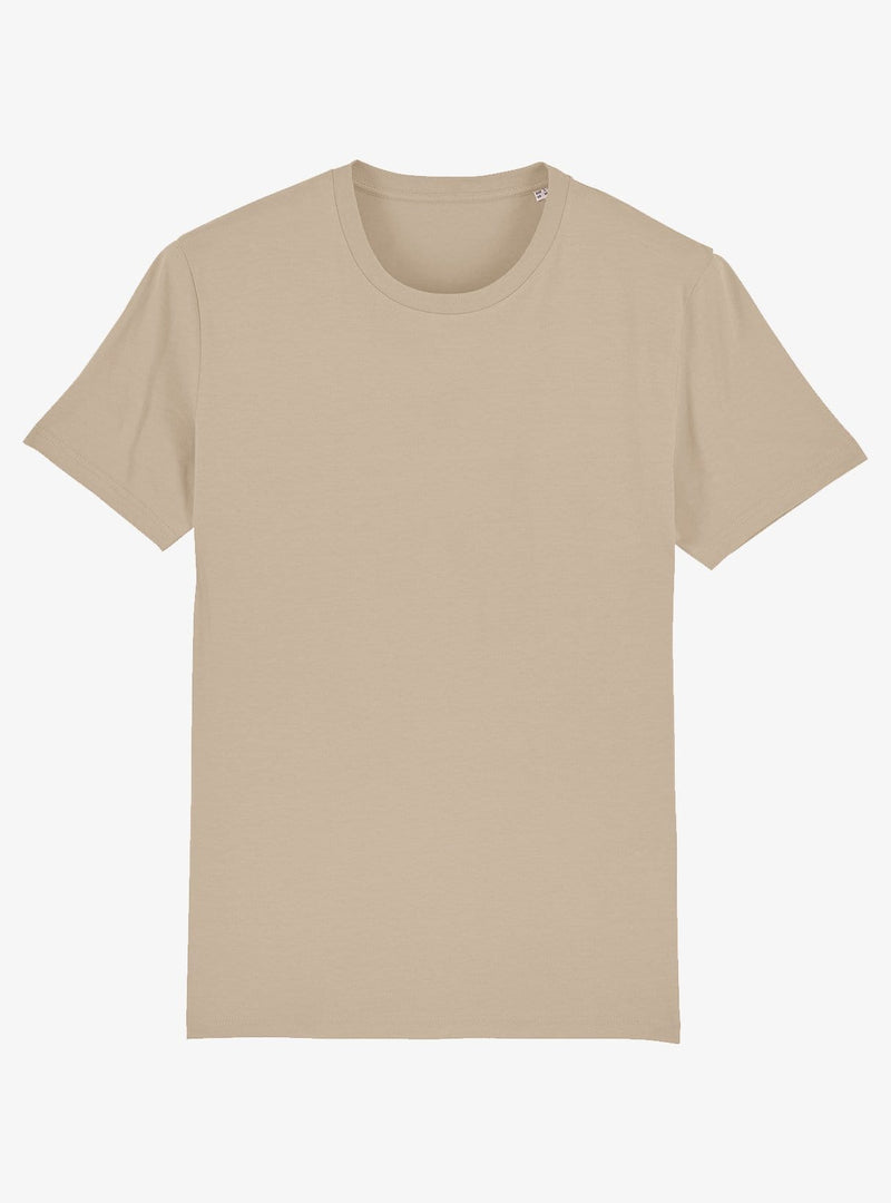 studio JUX Unisex Organic cotton - crewneck t-shirt - desert dust