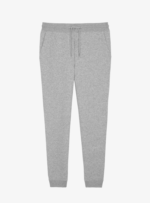 studio JUX Unisex S / light grey melange Relaxed organic cotton joggers