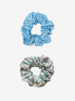 studio JUX Womens accessories Scrunchie 2-pack - light blue mix
