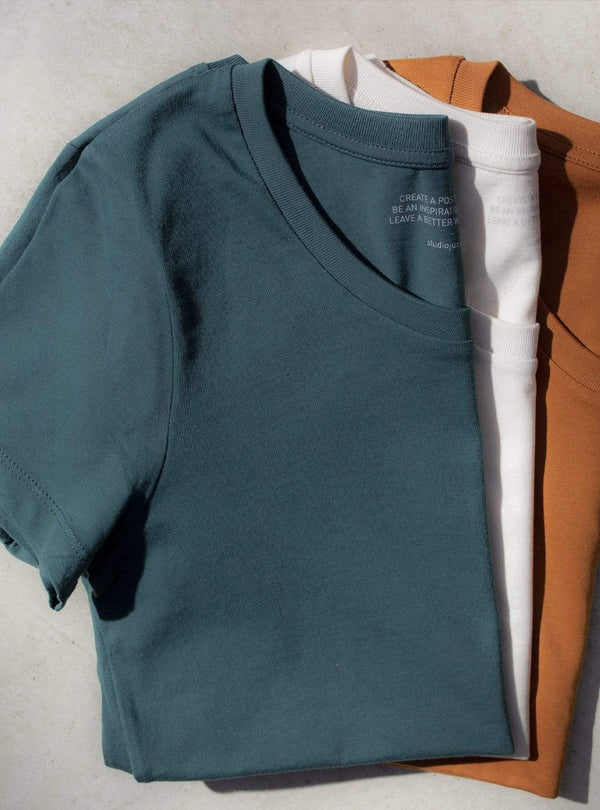 studio JUX Womens tops Relaxed t-shirt - glazed green
