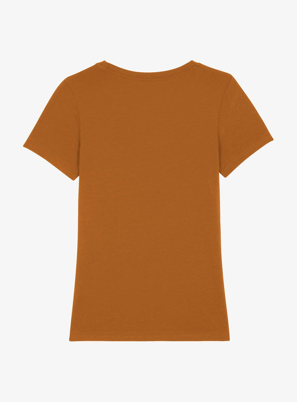 studio JUX Womens tops Relaxed t-shirt - roasted orange