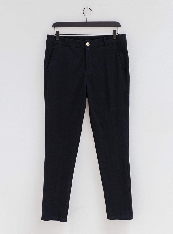 Organic cotton - trousers - black