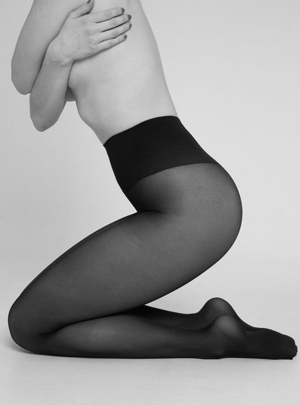 swedish stockings Womens stockings Svea - stockings 30 den - black