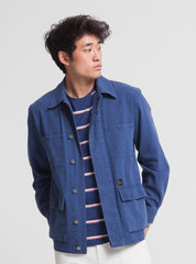 Blue james jacket - blue marino