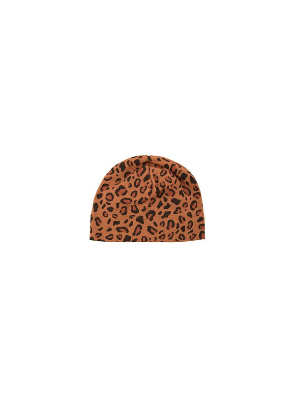 Tinycottons baby Animal print - baby hat - brown/dark brown